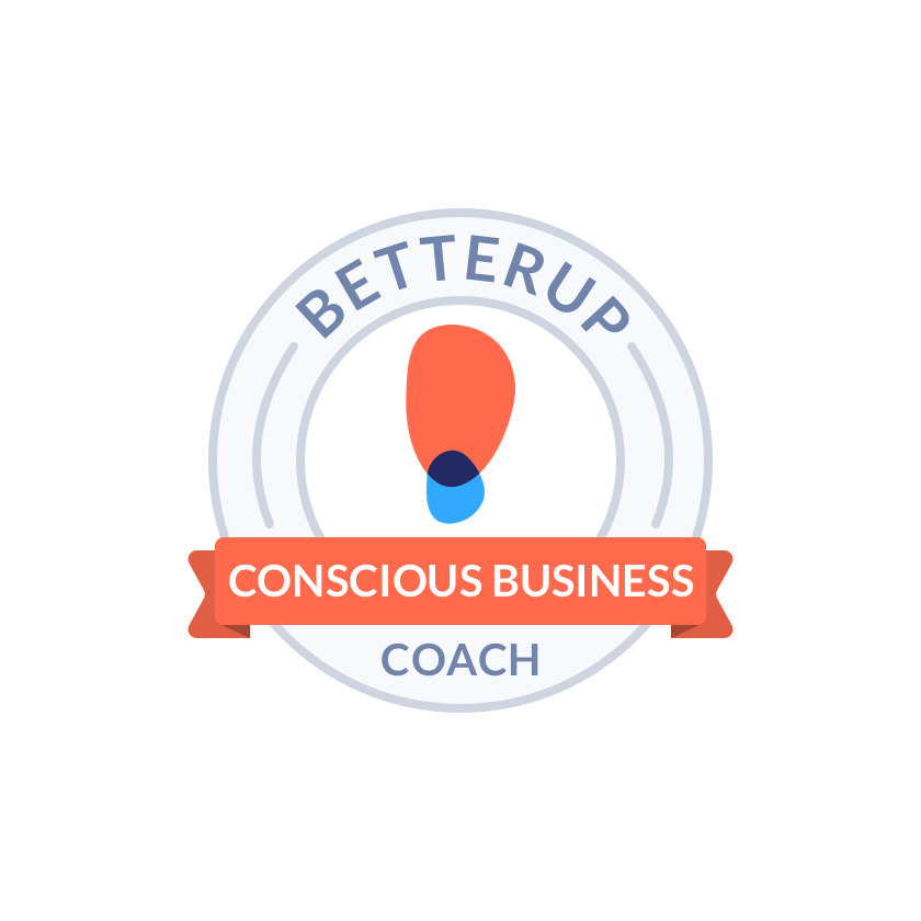 BetterUp Conscious Business Coach Professional Badge